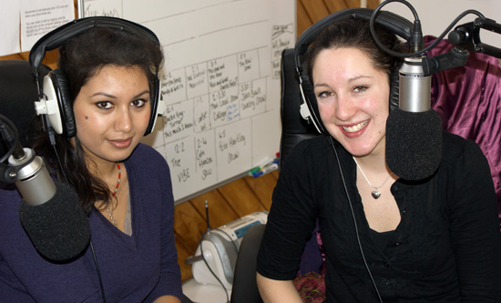 Debi and Nicki, Stratford Community Radio